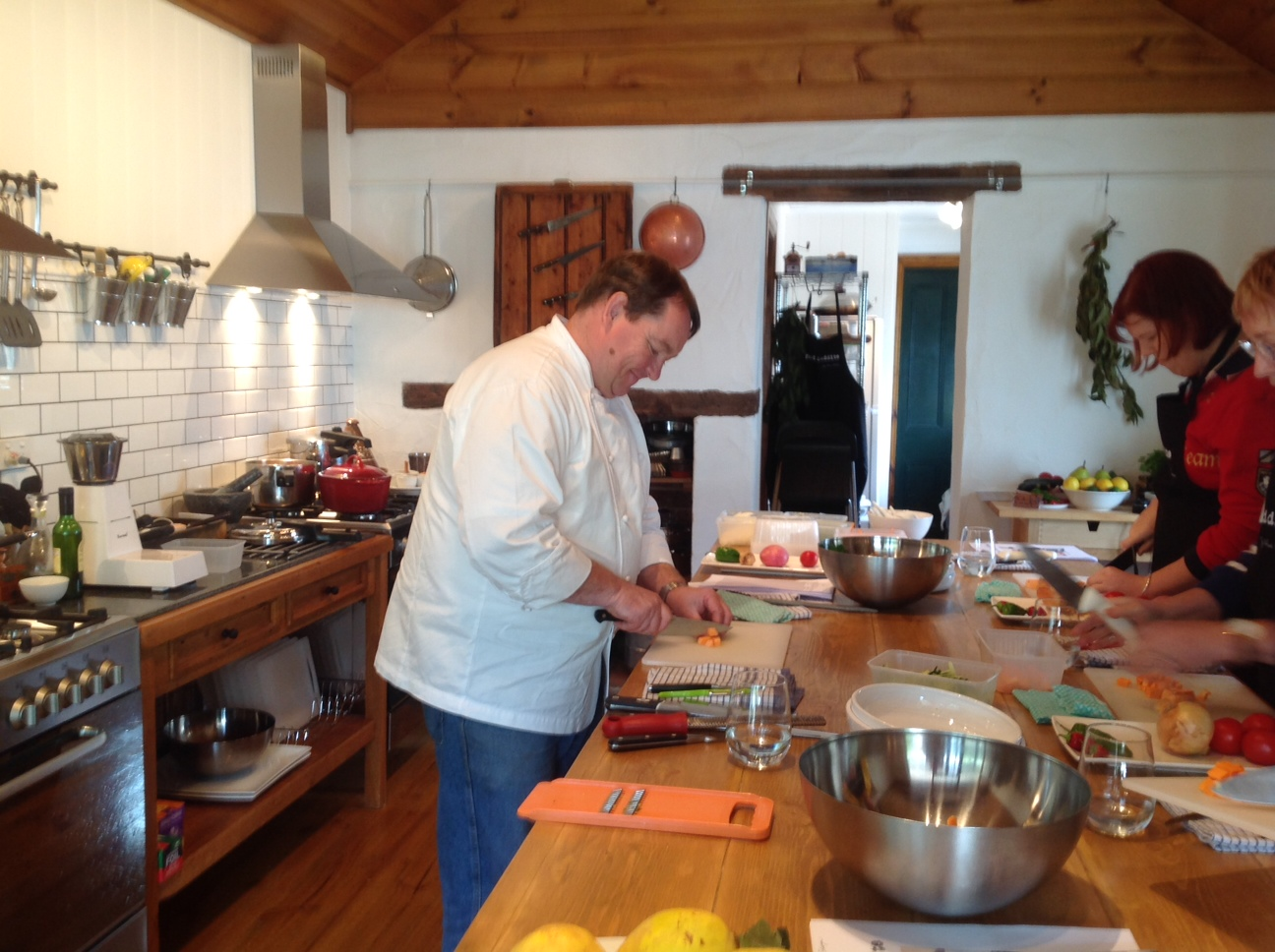 Barossa Cooking School five minutes from Seppeltsfield Vineyard Cottage!