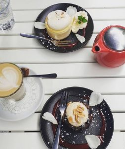 Red Door Espresso cafe .. a favourite of Seppeltsfield Vineyard Cottage for the best coffee and Cake in the Barossa !
