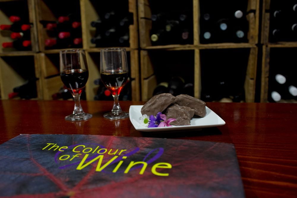 Luxury Barossa Valley vineyard accommodation, Seppeltsfield Vineyard Cottage. With private wine cellar
